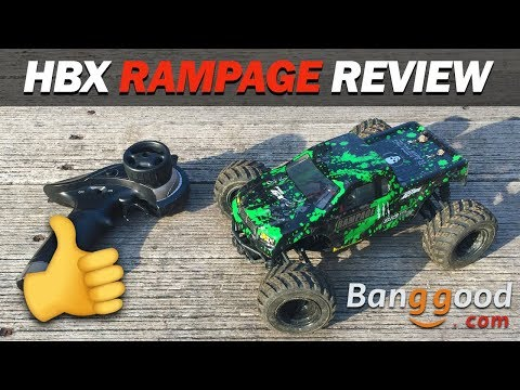 HBX RAMPAGE 1/18 2.4G 4WD Off Road Crawler REVIEW 👍✔️