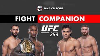 UFC 253: Adesanya vs Costa and Reyes vs Blachowicz Fight Companion