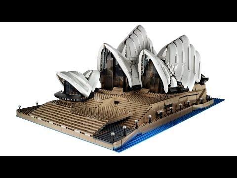 Vidéo LEGO Creator 10234 : L'opéra de Sydney