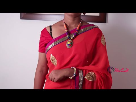 How to Drape Gujarati Style Saree Easily, Quickly and Perfectly   NewLook