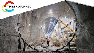 State Library Station works highlights - December 2020 to January 2021