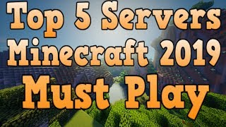 Top 5 Servers/Realms Minecraft 2019
