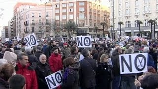 Spain's 'tide of citizens' takes to the streets