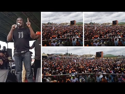 OBESERE PULL CROWD FOR GOVERNORSHIP ASPIRANT HON.OMISORE,