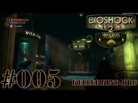 Bioshock 2 Minerva´s Den [HD|60FPS] #005 - Auf zu den Air-Tite Archives ★ Let's Play Bioshock 2 MD