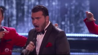 """The Finale   Sal Valentinetti & Jersey Boys""""What A Night""""   America's Got Talent 2016"""