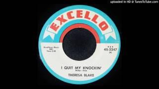 Theresa Blake - I Quit My Knockin' - 1964 Black Rocker