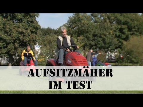 Aufsitzmäher im Test