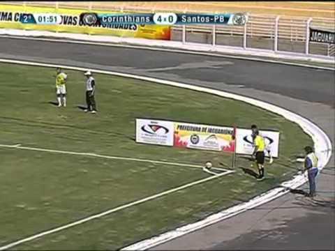 Os gols de Corinthians 9 x 0 Santos-PB pela Copinha