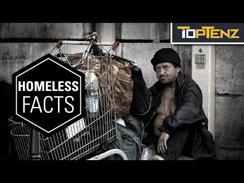 Top 10 HEARTBREAKING Facts About HOMELESSNESS