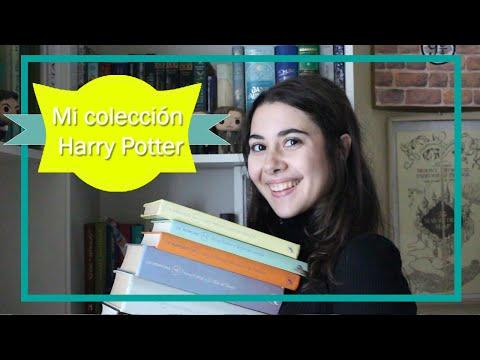 ¡Mi coleccion de libros de Harry Potter!