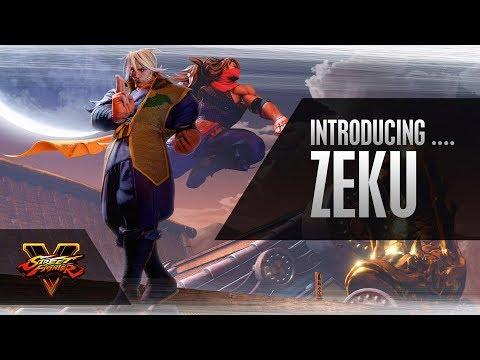 SFV: Character Introduction Series – Zeku