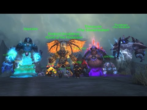 The Story of the Shaman Order Hall Campaign