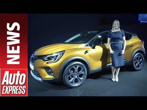New 2020 Renault Captur E-Tech - popular crossover gets plug-in hybrid tech