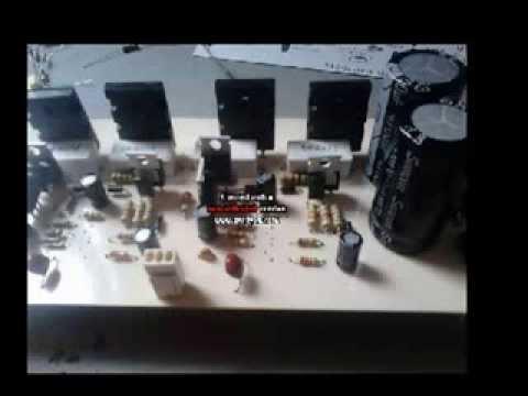 Video Amplificador 200w Audio 5.1