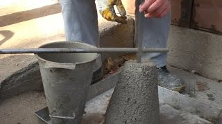 Concrete Quality Control Test at Site  -  Slump Test