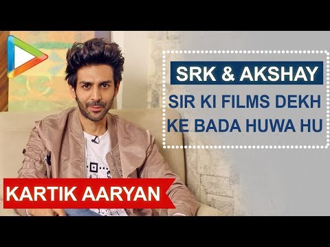 "Kartik Aaryan: ""SHAH RUKH KHAN Sir is My All time Favourite Actor"" 
