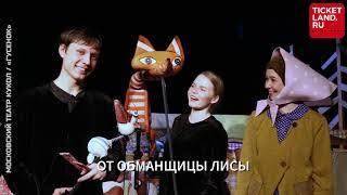 """Московский Театр Кукол, спектакль """"Гусенок"""""""