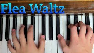 How to play Flea Waltz on piano tutorial.