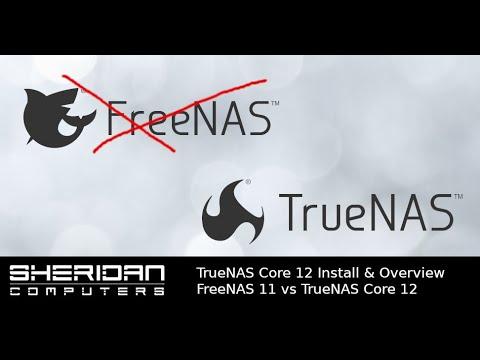 How to install TrueNAS Core 12