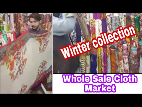 Nowshera Wholesale Cloth Market - Winter Collection - Vlogs for all
