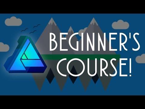 Affinity Designer Beginner Course! - YouTube