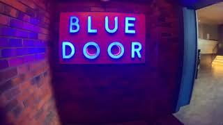 Blue Door And Beer Garden, Nairobi, Kenya