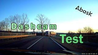 Abask - Dashcam Unboxing & Test