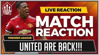 Everton 0-2 Manchester United | MARTIAL & LINGARD Goal WINS IT!!!