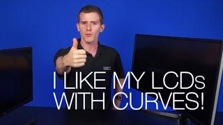 Curved Monitors Explained! Ft. BENQ XR3501 & Samsung SE510C