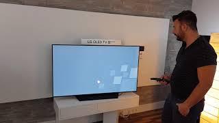 LG OLED 55B8 TV Ersteinrichtung [ deutsch ]