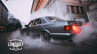Подвеска на W126 V8, Отвозим диски в QLT, Burnout на V8 - Lowdaily Lifestyle 9
