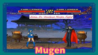 Mugen : Sailor Moon : Mercury Crystal Vs Tuxedo Mask (My Battle)