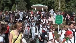 preview picture of video 'Otvírání pramenů Luhačovice 2009'