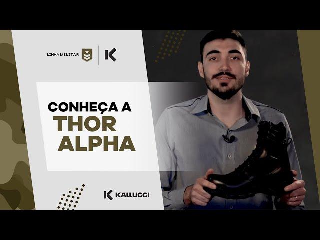 Bota Thor Alpha Kallucci