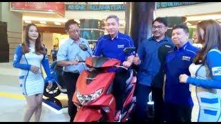 Keistimewaan Yamaha FreeGo, Satu di Antaranya Pengisian Bensin di DashboardDepan