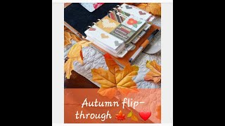 Flip-Through of my Autumn Setup in my Grey + Orange Gillio Compagna xo