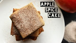 How To Make A Low Calorie Apple Spice Cake | Healthy Cake Recipe (ONLY 100 Calories)