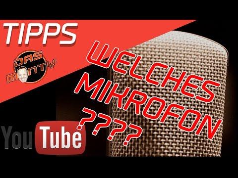 Youtube Tipps für Anfänger - Das richtige Mikrofon für Youtube muss nicht teuer sein - Das Monty