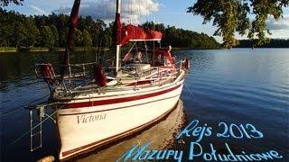 preview picture of video 'Mazury - kraina najpiękniejszych jezior na świecie - rejs 2013'