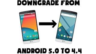 Lg G5 H830 Downgrade