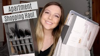 APARTMENT SHOPPING HAUL // Moving Into My First Apartment