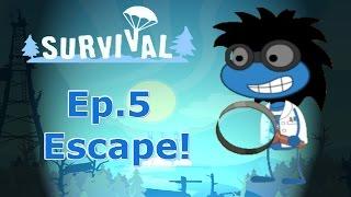 Poptropica: Survival Island Ep.5 Escape!