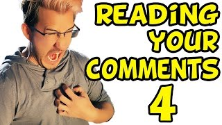 MARK HAD A HEART ATTACK?! | Reading Your Comments #4