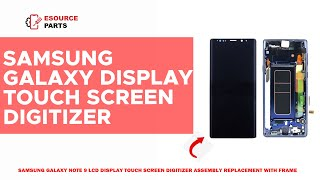 Samsung Galaxy Note 9 LCD Display Touch Screen Review