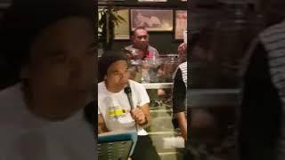 Kaka Slank Konser Dadakan Di Sibu Sibu Cafe