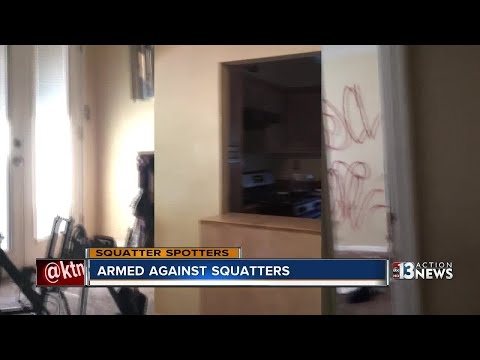 Las Vegas realtors armed against squatters