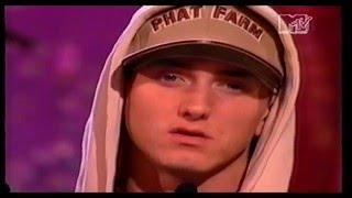 Eminem accepts MTV Europe Music Award for Best Hip Hop 2002
