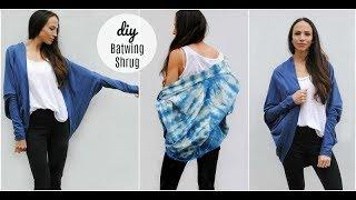DIY Kimono/ Batwing Shrug