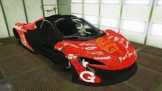 Реальная Жизнь в GTA 5 - ВОССТАНАВЛИВАЕМ McLaren P1! Продал Хот-Род!